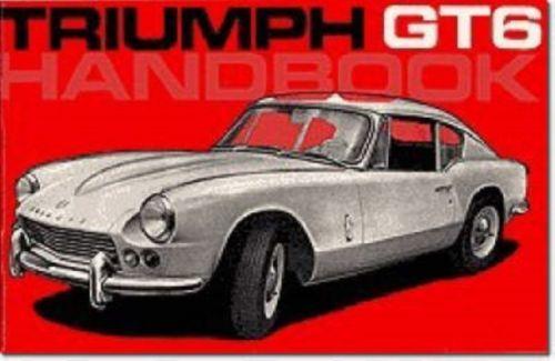 Triumph Owners' Handbook: Gt6