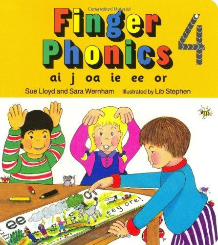 Finger Phonics book 4