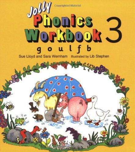 Jolly Phonics Workbook 3