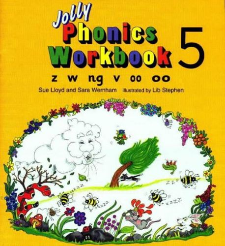 9781870946551 image Jolly Phonics Workbook 5