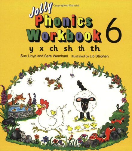 9781870946568 image Jolly Phonics Workbook 6