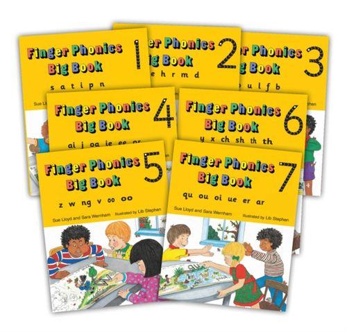 9781870946940 image Finger Phonics Big Books 1-7