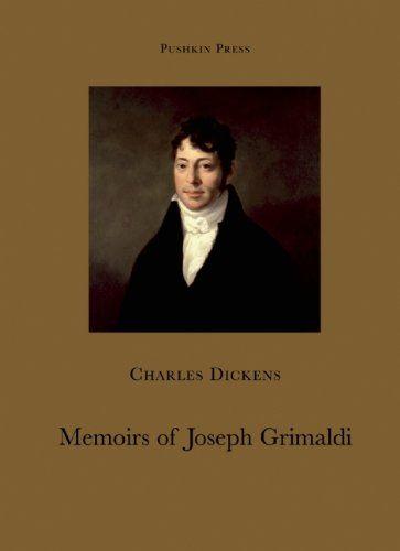 9781901285949 image Memoirs of Joseph Grimaldi