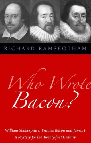 9781902636542 image Who Wrote Bacon?