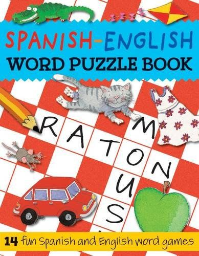 Spanish-English Word Puzzle Book