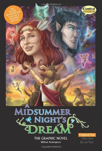 9781906332891 image Midsummer Night's Dream the Graphic Novel