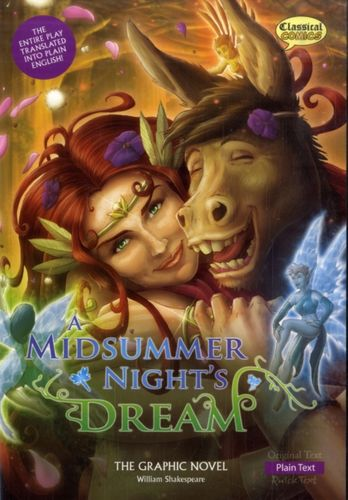 9781906332907 image Midsummer Night's Dream the Graphic Novel