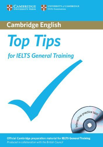 9781906438739 image Top Tips for IELTS General Training Paperback with CD-ROM