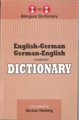 English-German & German-English One-to-One Dictionary