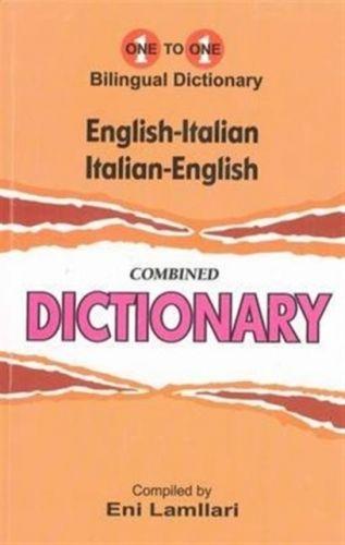 English-Italian & Italian-English One-to-One Dictionary