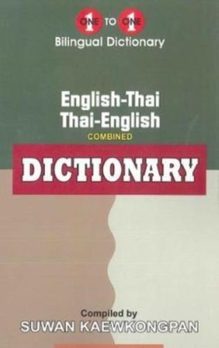English-Thai & Thai-English One-to-One Dictionary (exam-suitable)
