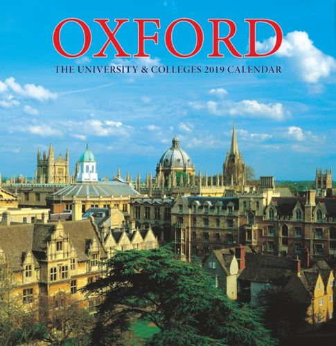 9781909759916 image Oxford Colleges Large Calendar - 2019