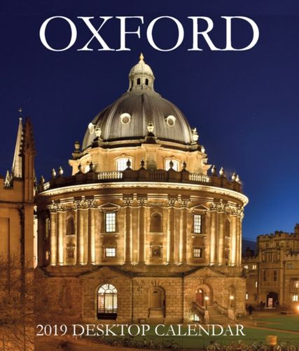 Oxford Large Desktop Calendar - 2019