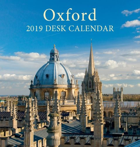 Oxford Colleges Mini Desktop Calendar - 2019