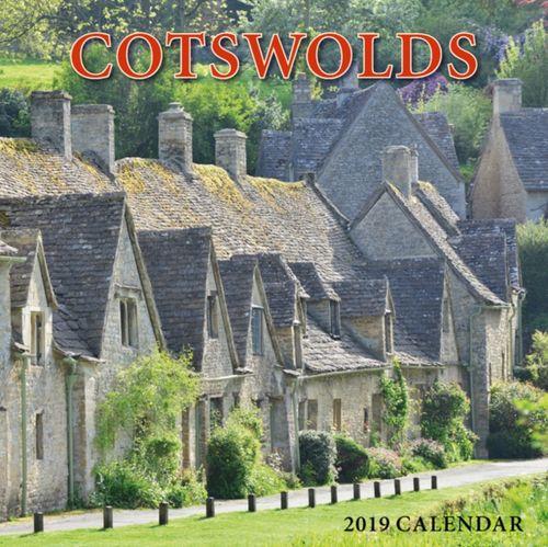 Cotswolds Large Square Calendar - 2019