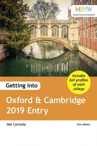 9781911067801 image Getting into Oxford & Cambridge 2019 Entry