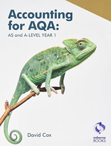 9781911198123 image Accounting for AQA : AS and A Level Year 1