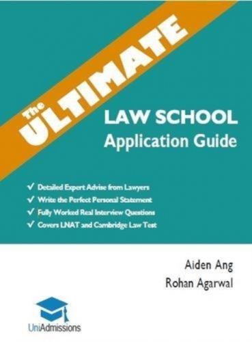 Ultimate Law School Application Guide