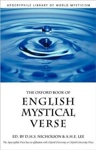 9781937002312 image Oxford Book of English Mystical Verse