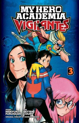 My Hero Academia: Vigilantes, Vol. 3