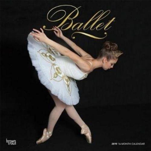 Ballet 2019 Square Wall Calendar