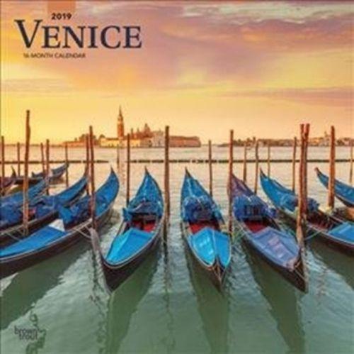Venice 2019 Square Wall Calendar