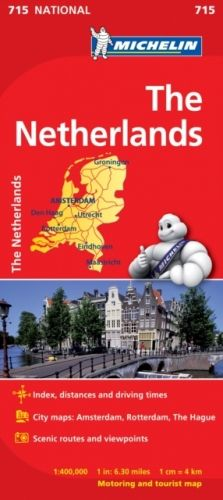 Netherlands - Michelin National Map 715