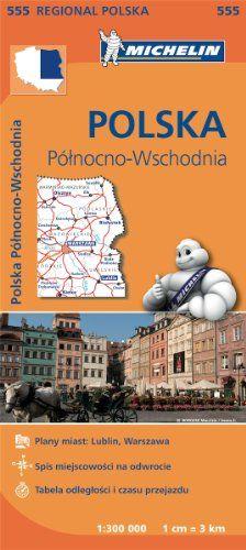 Poland North East - Michelin Regional Map 555