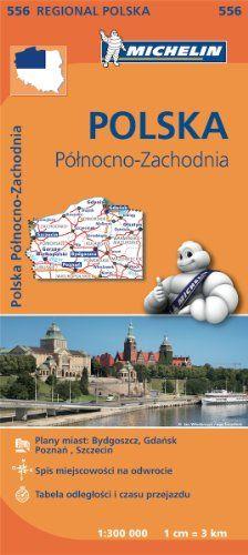 Poland North West - Michelin Regional Map 556