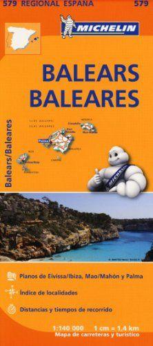 Baleares - Michelin Regional Map 579