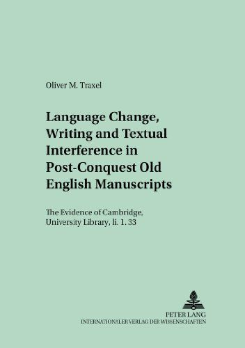 9783631528440 image Language Change, Writing and Textual Interference in Post-conquest Old English Manuscripts