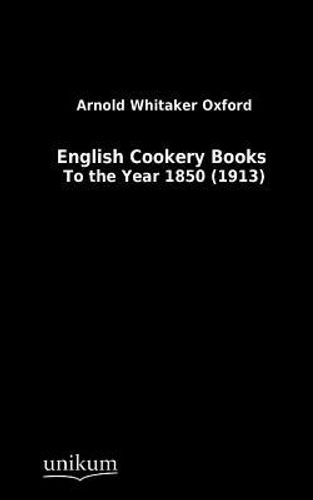 9783845713243 image English Cookery Books