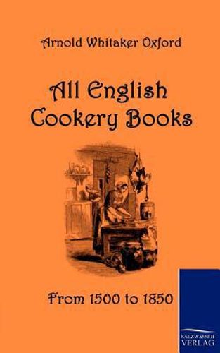 9783861952916 image All English Cookery Books