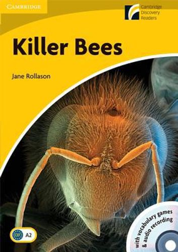 9788483235089 image Killer Bees Level 2 Elementary/Lower-intermediate American English Book with CD-ROM and Audio CD Pack