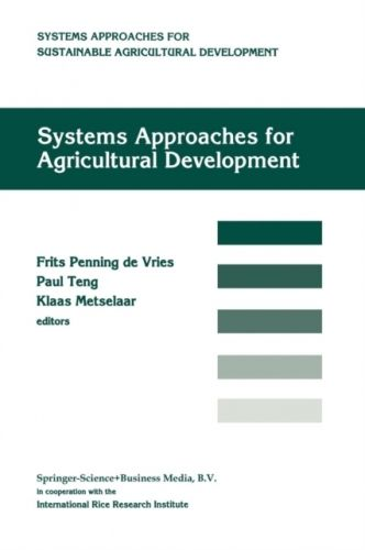 9789401052627 image Systems approaches for agricultural development