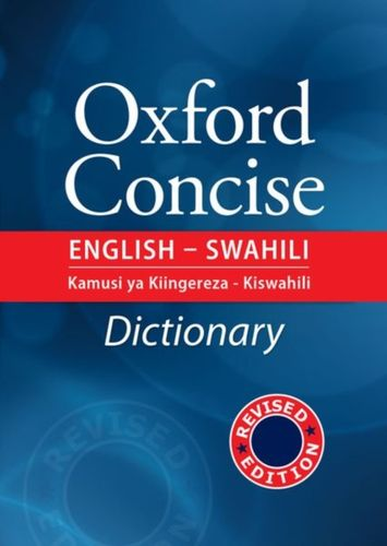 9789976400168 image Concise English - Swahili Dictionary